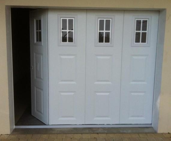 Menuiserie pele portes de garage for Porte de garage battante